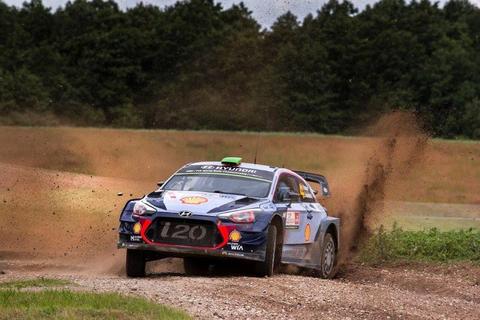 Rallye de Pologne : victoire de Thierry Neuville