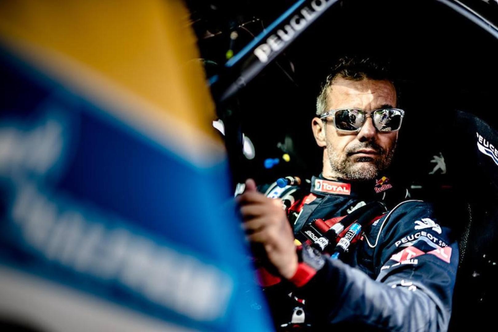 Sébastien Loeb signe sa seconde victoire d'étape au Silkway Rally 2017