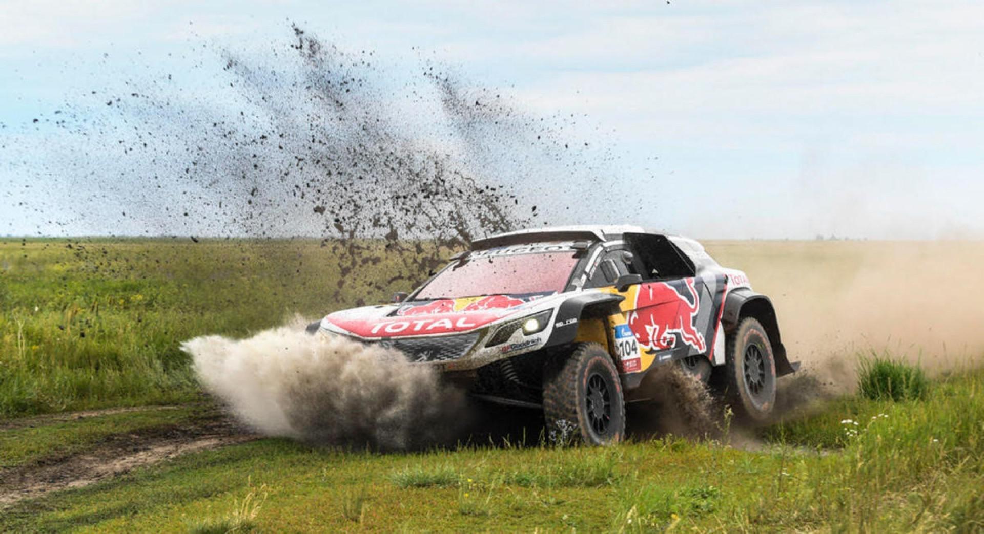Sébastien Loeb domine la 4e étape du Silk Way Rally 2017