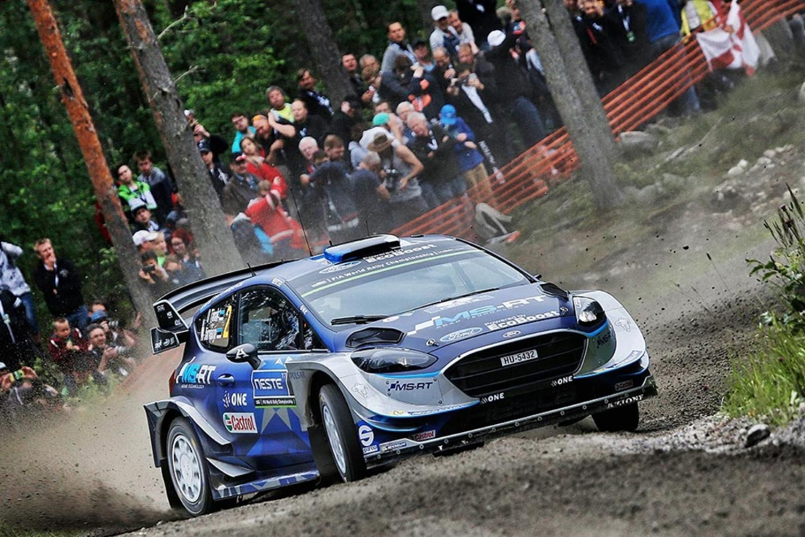 Rallye de Finlande : Ott Tanak leader