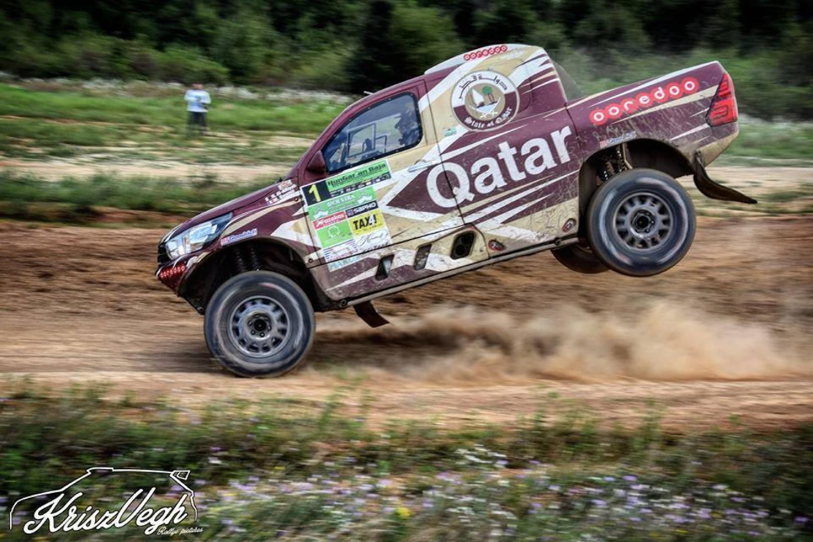 Hungarian Baja : Nasser Al Attiyah l'emporte pour la 4ème fois.