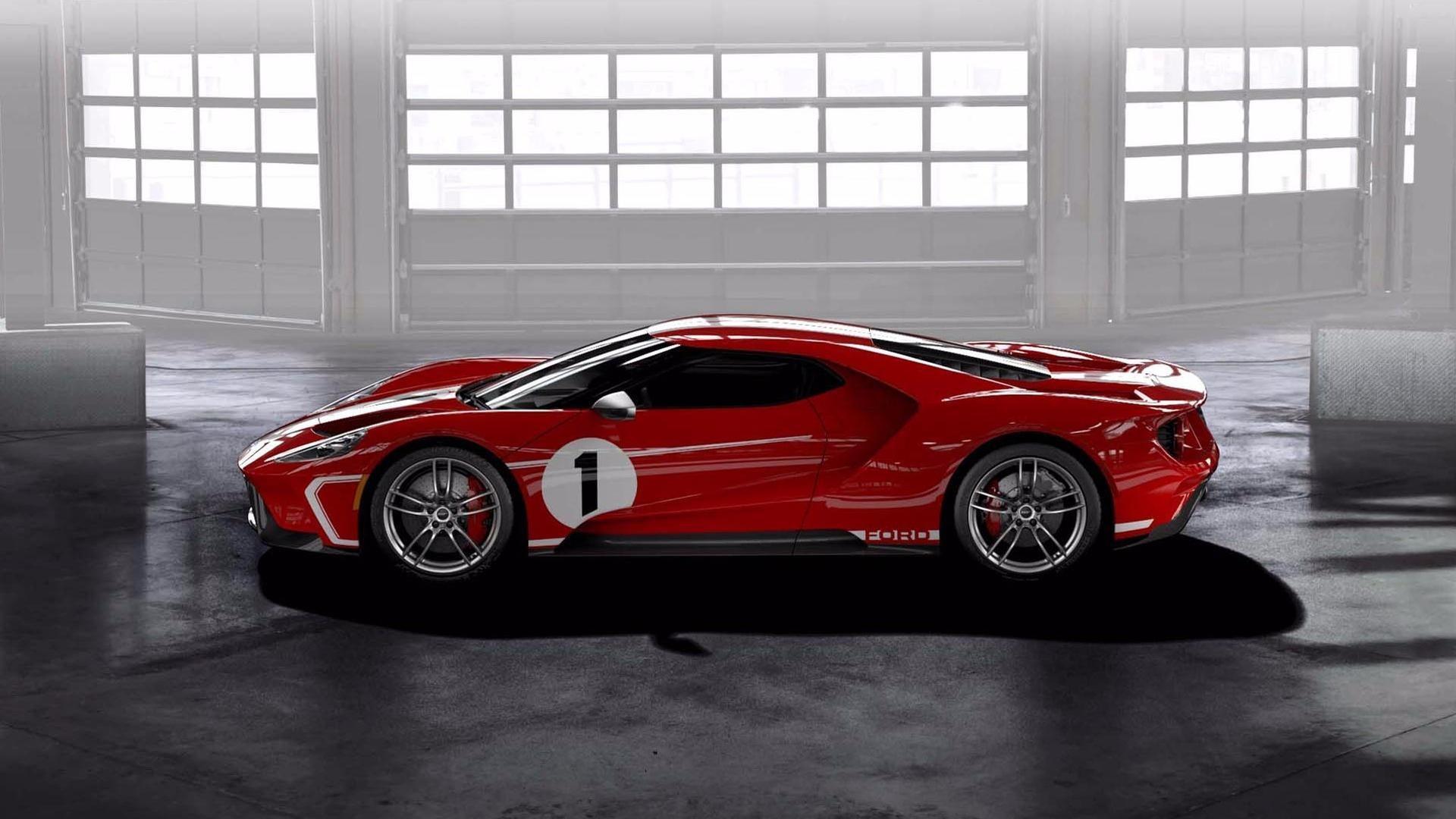 Forddévoile la superbe GT 67 Heritage Edition( très ) limitée !
