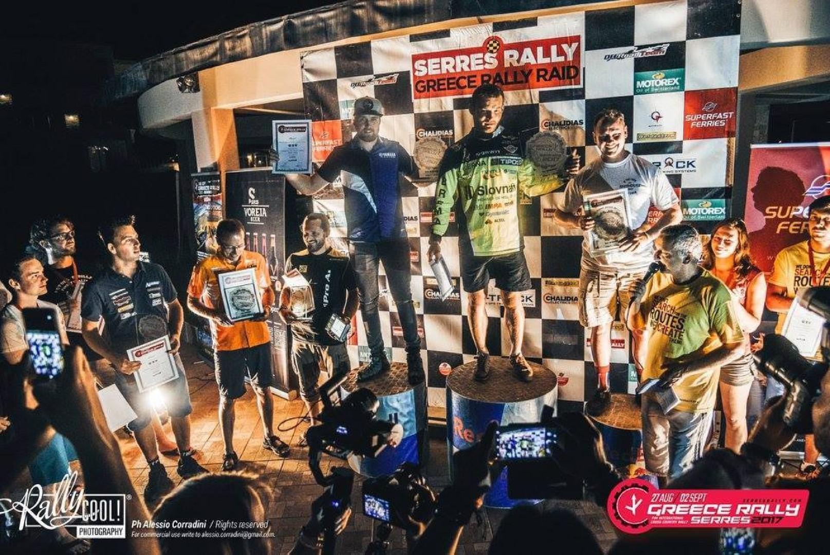Serres Rally 2017 : Victoire de Stefan Svitko.