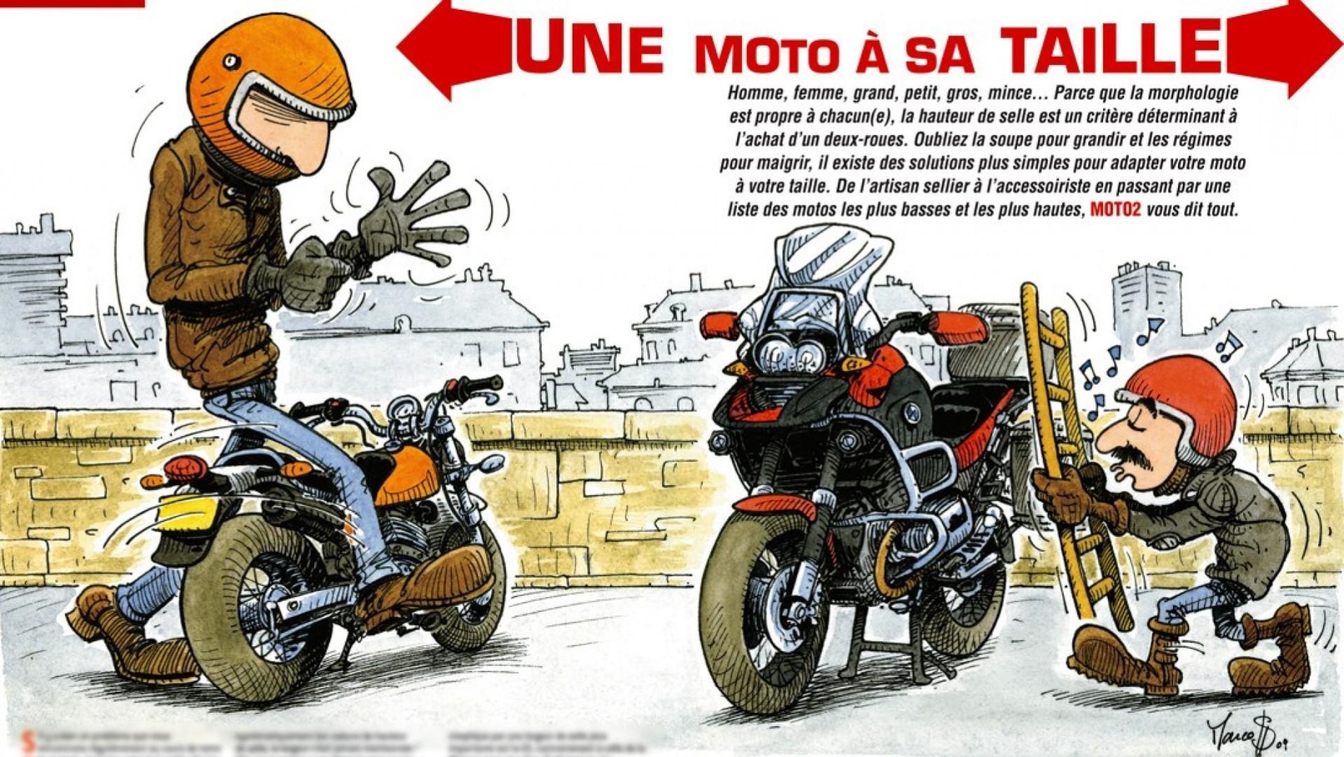 Top 10 des motos pour les petits de taille
