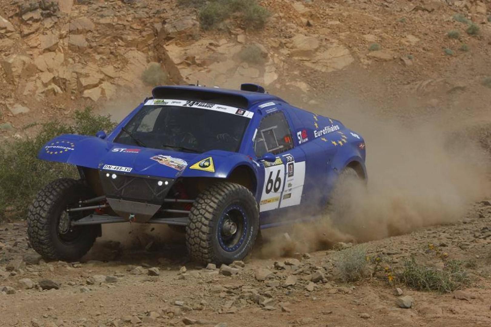 Thierry Bunel au Rallye Hearts of Morocco