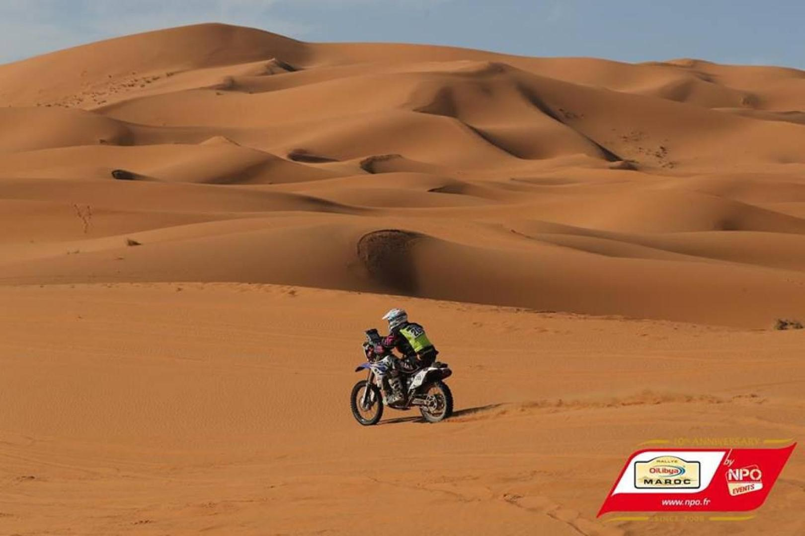 Participation du marocain Abdelghani OUAFI au Rallye OiLibya du Maroc 2017.