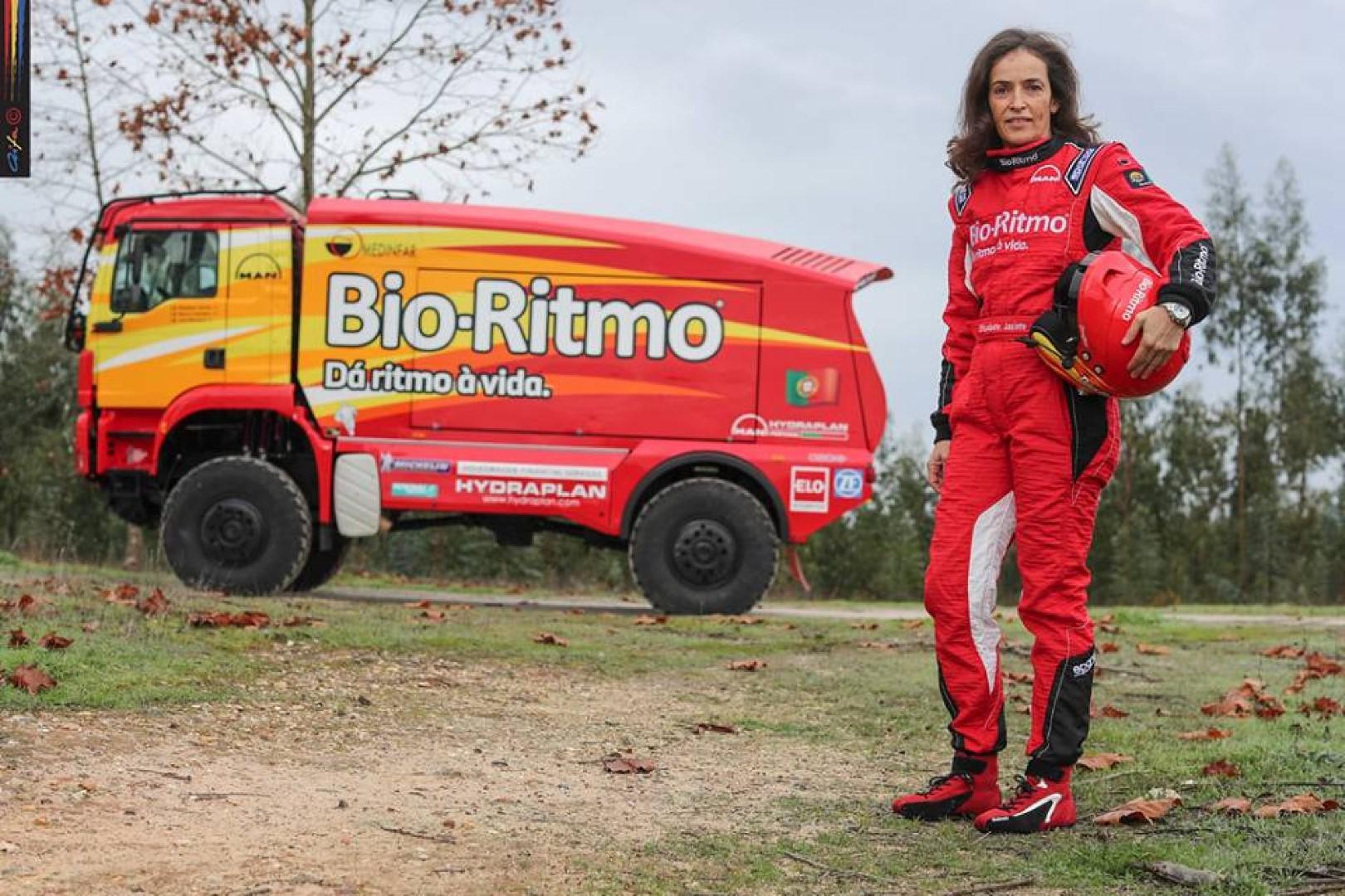 Elisabete Jacinto , aussi fidèle au Maroc qu'à son camion Man.