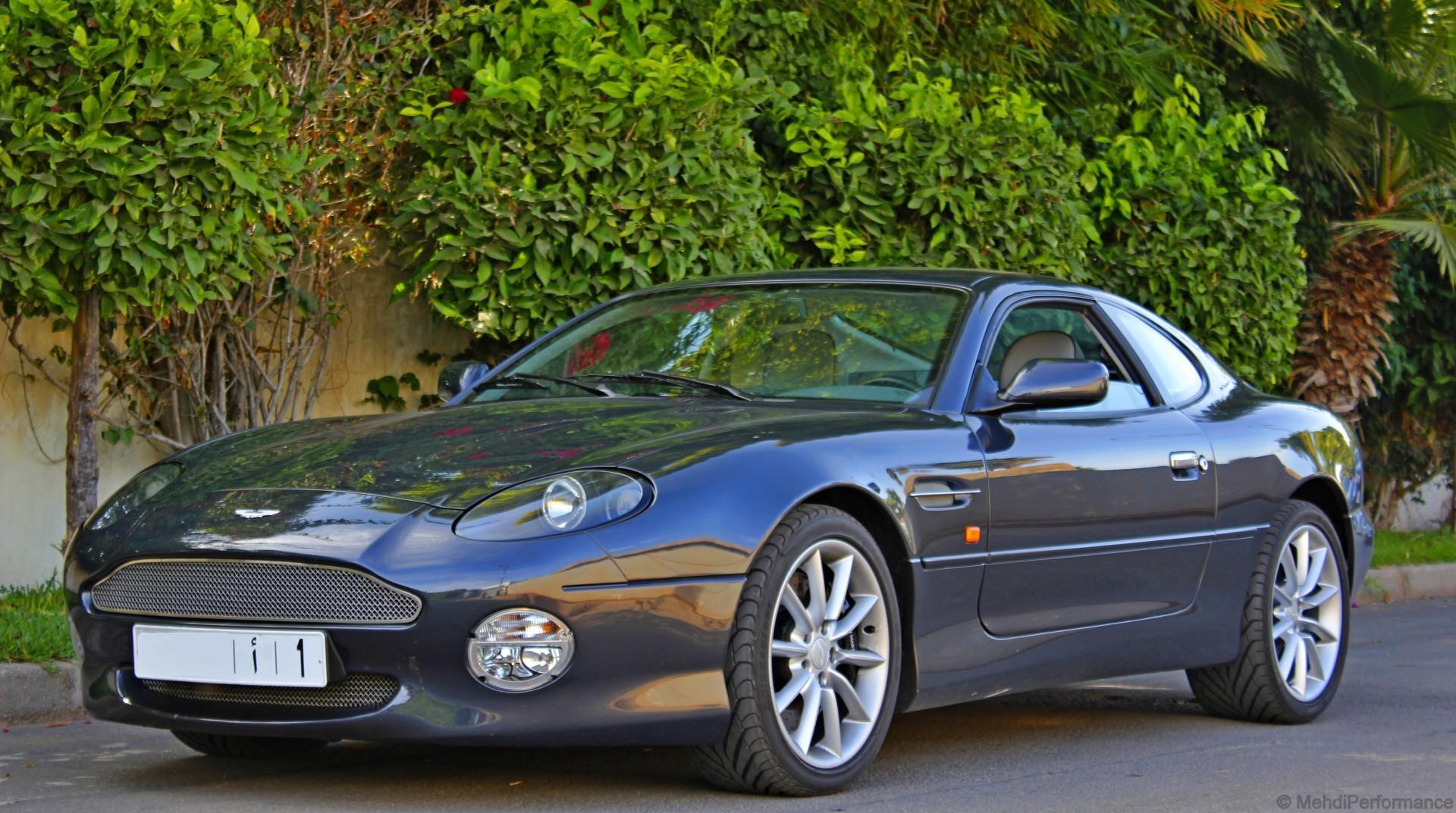 DB7 Vantage : L'une des rares Aston Martin au Maroc