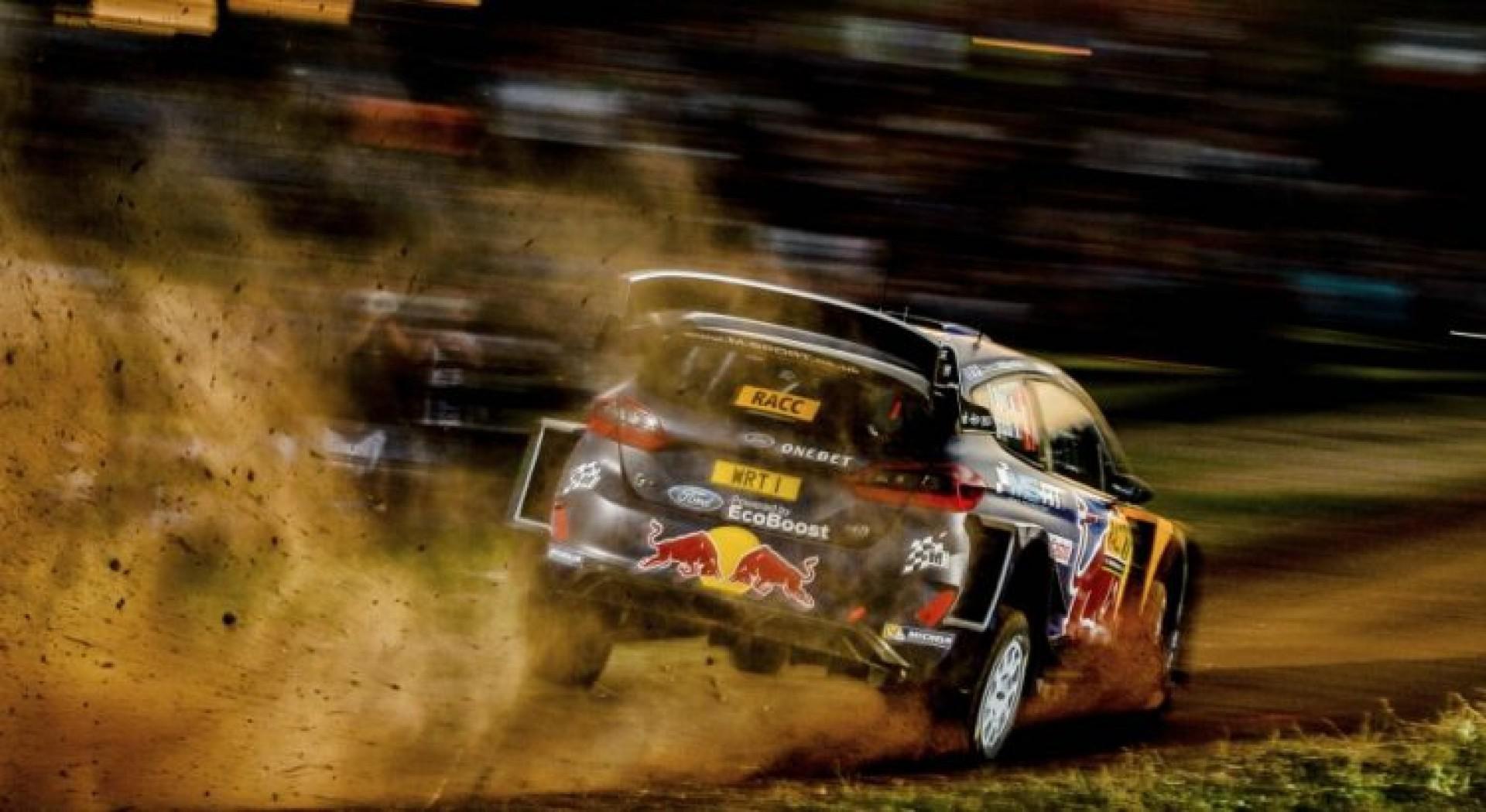 WRC espagne : Ogier en tête après le shakdown