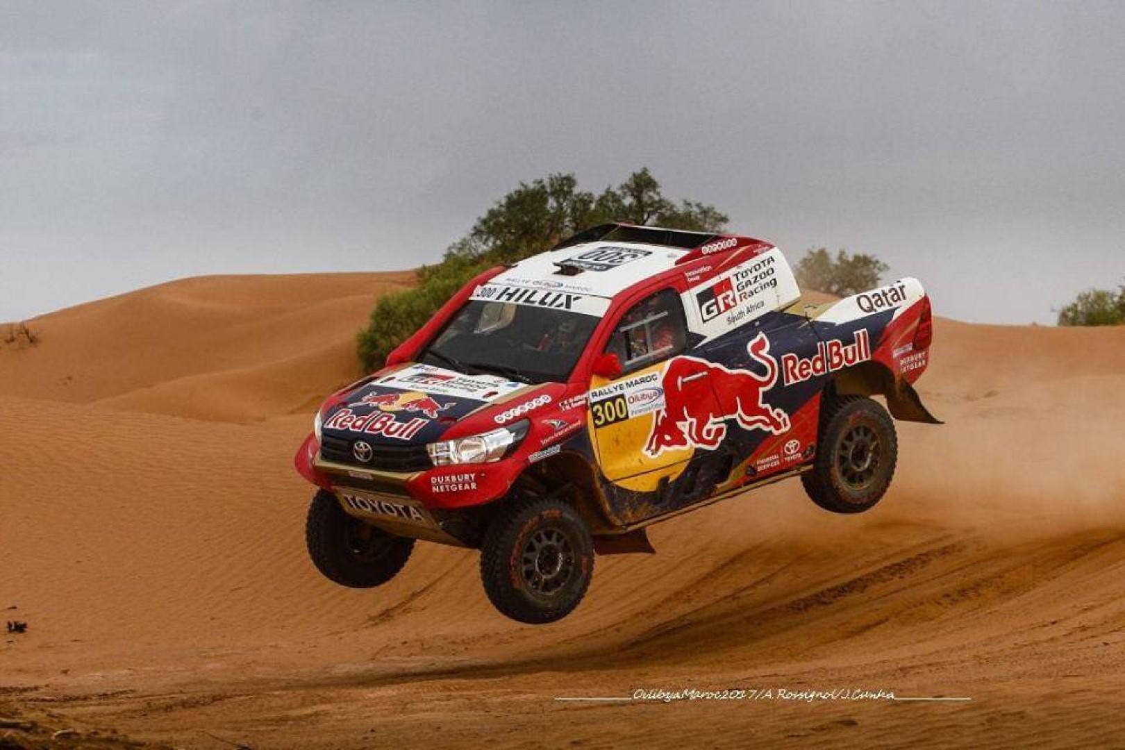 Rallye Oilibya du Maroc 2017: Nasser Al Attiyah proche d'un 4e titre