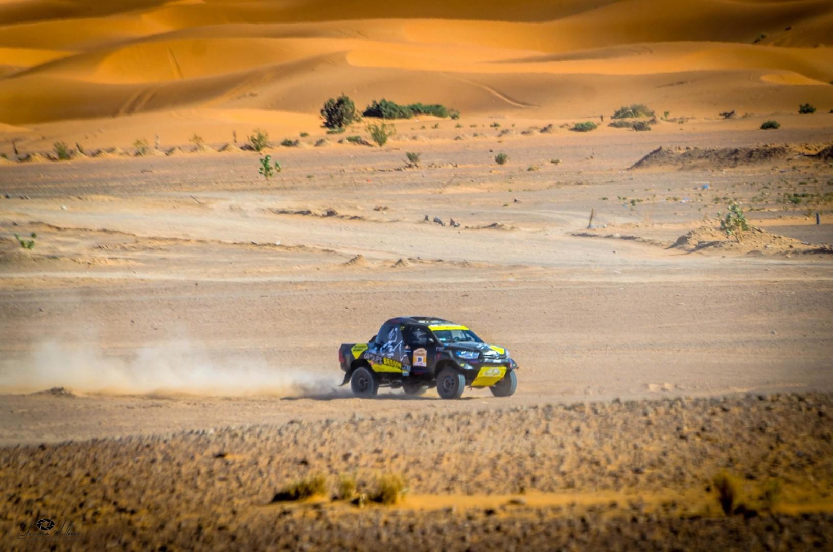 Rallye Hearts of Morocco 2017: Besson sur Toyota domine l'étape du jour