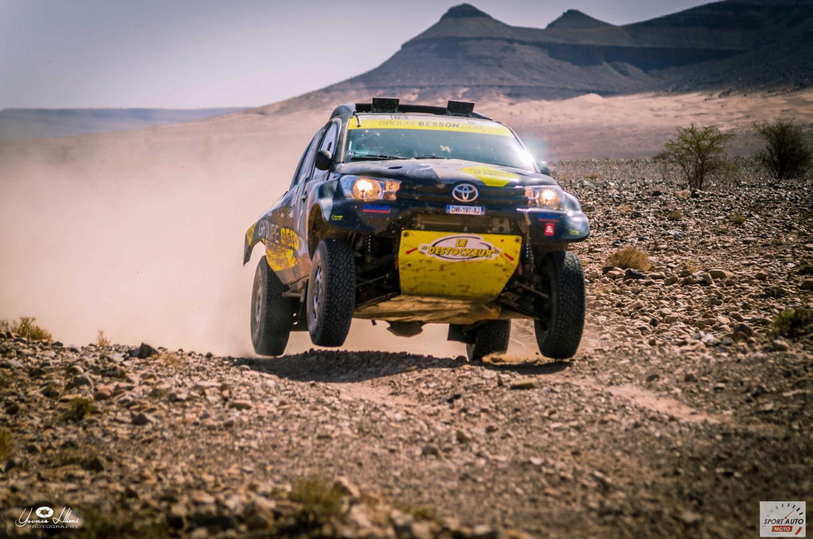 Rallye Hearts of Morocco 2017 : Lionel Baud vainqueur du jour