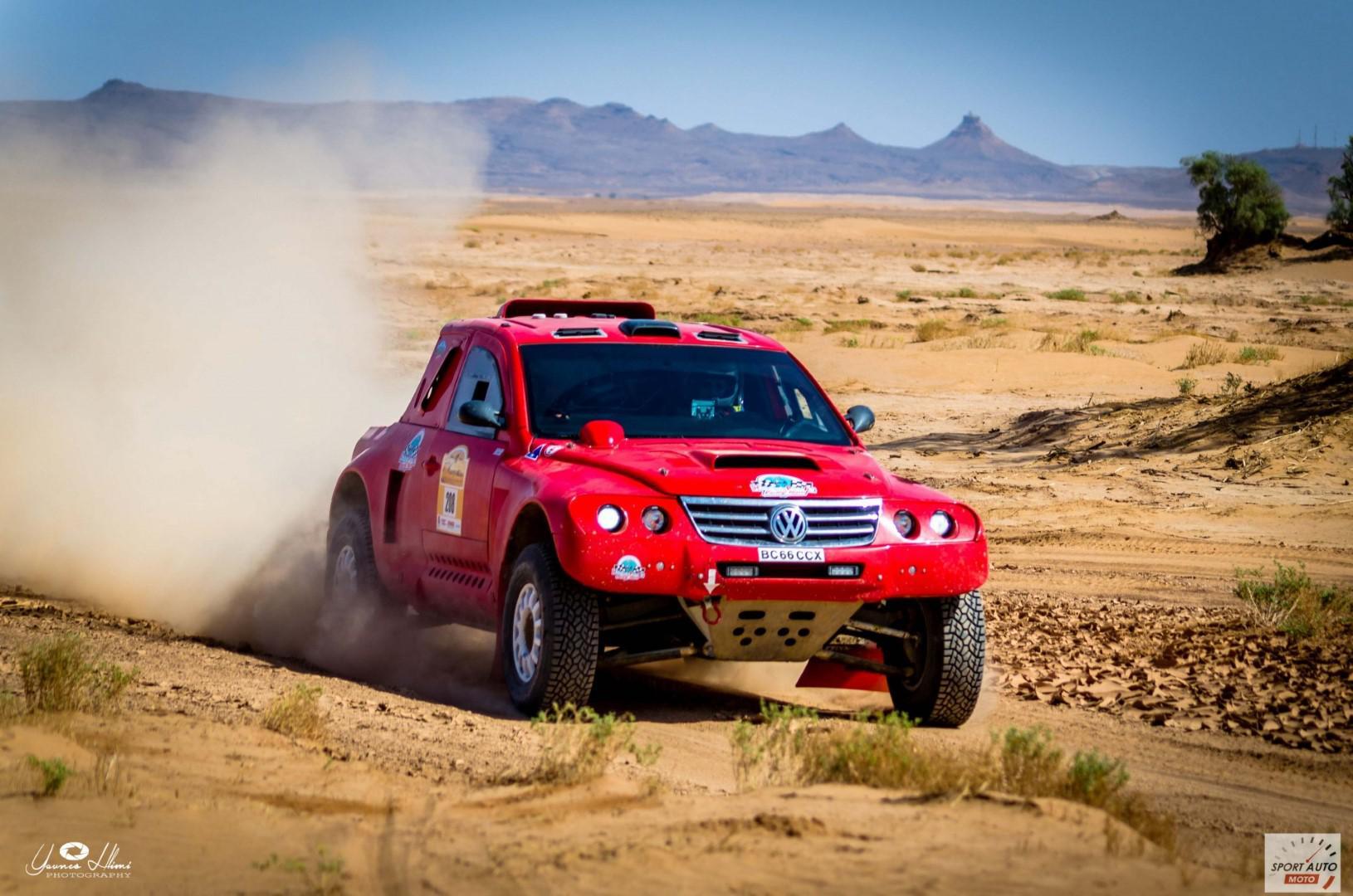 Rallye Hearts of Morocco 2017 : Lefebre réduit l'écart sur Besson
