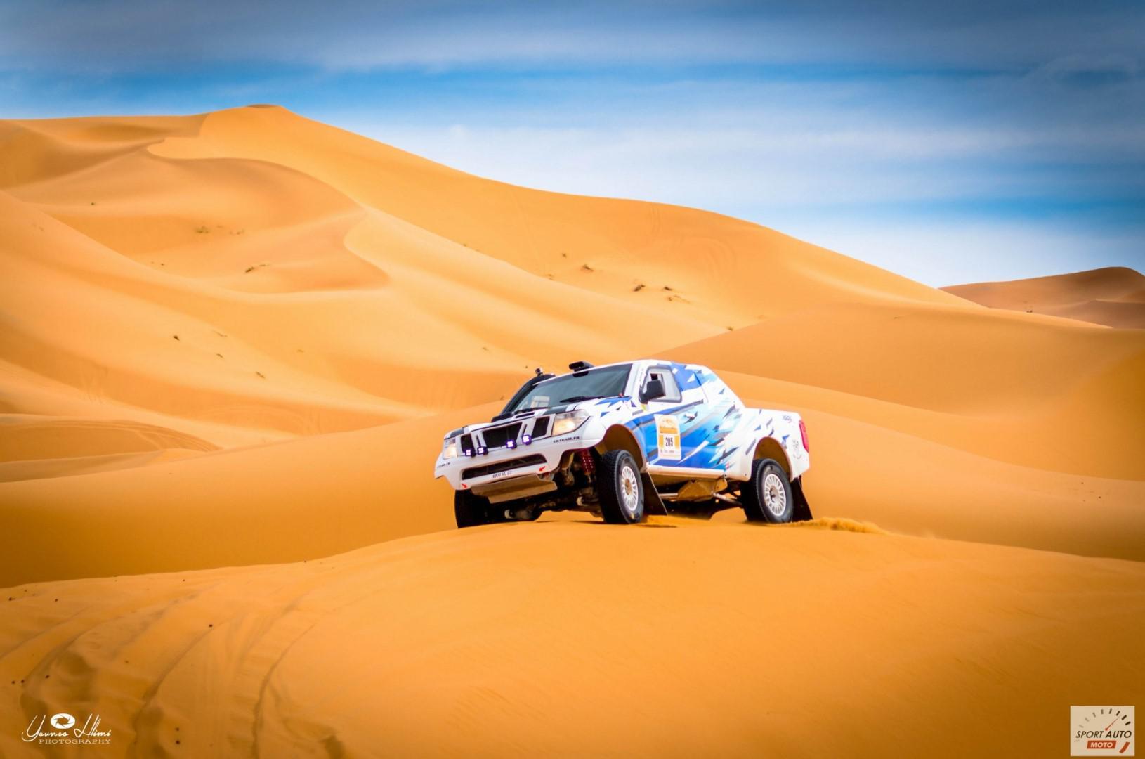 Rallye Hearts of Morocco 2017 : Besson sur Toyota domine