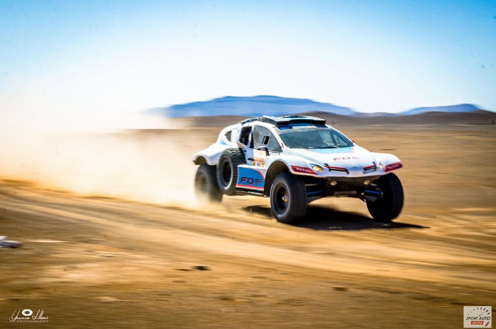 Rallye Hearts of Morocco 2017 : victoire de Lionel Baud sur la plus longue étape du rallye.