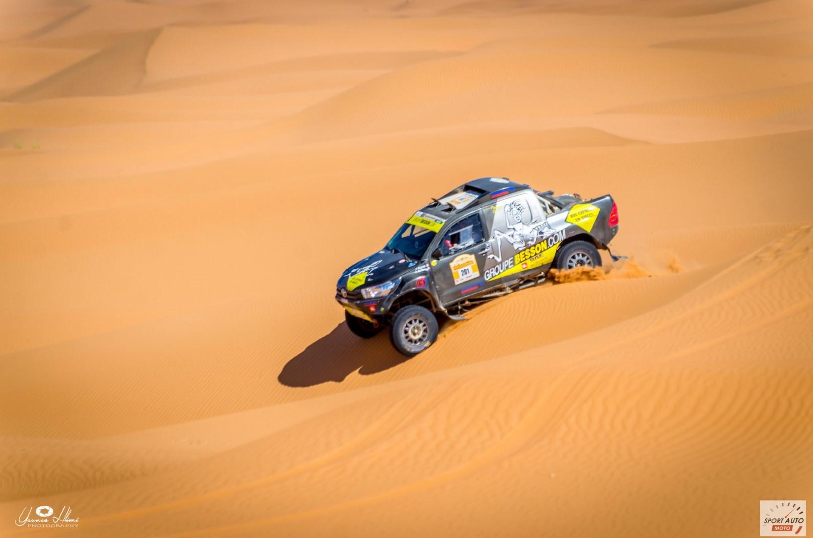 Rallye Hearts of Morocco 2017 : Besson remporte la première édition