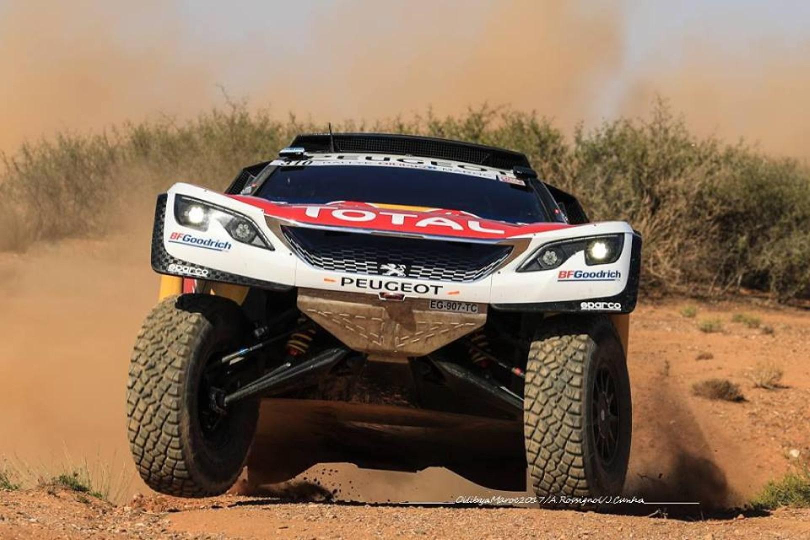 Dakar 2018 : Peugeot a conclu son ultime séance d'essai au Maroc.