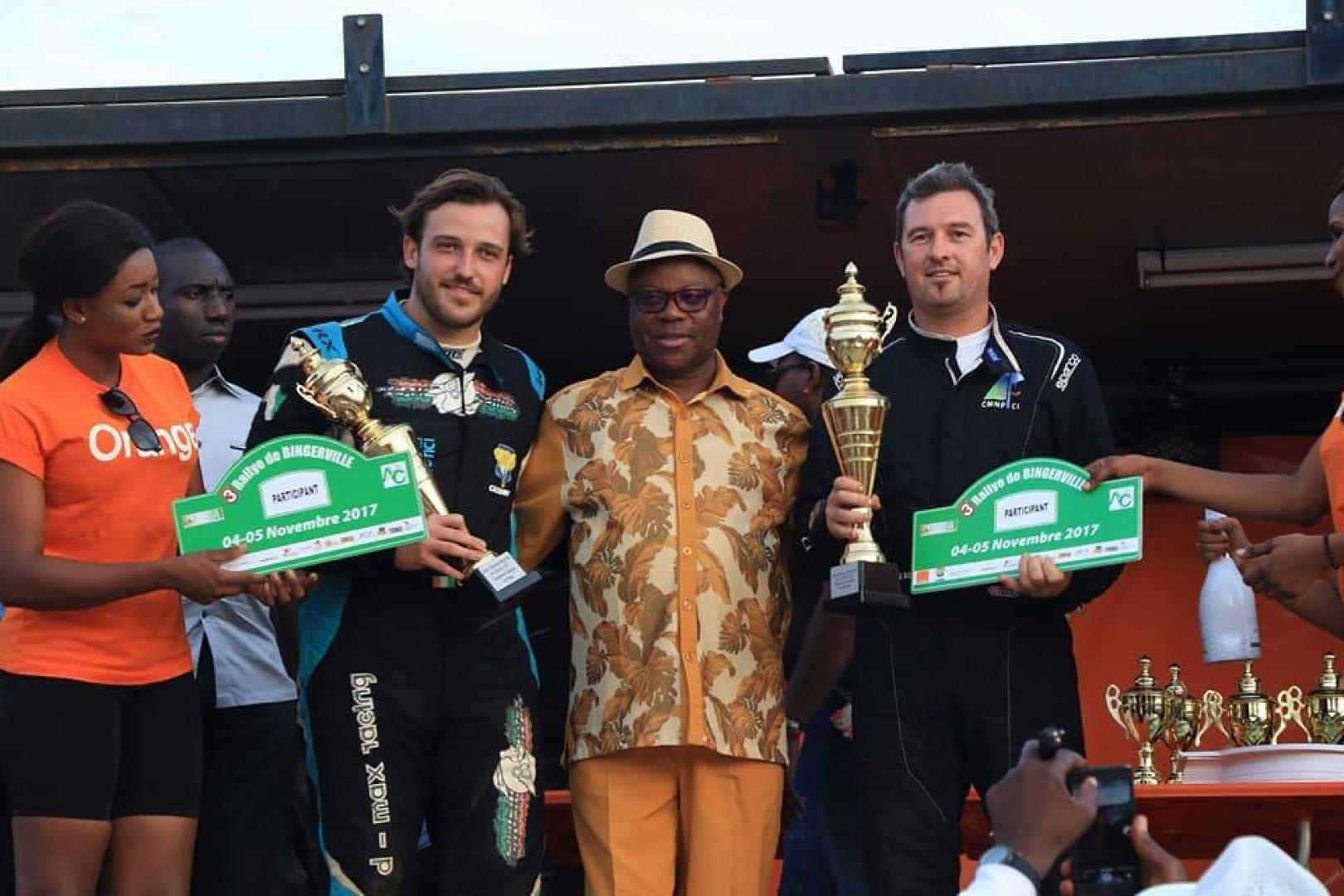 Rallye de Bingerville 2017 : Victoire de Gary Chaynes