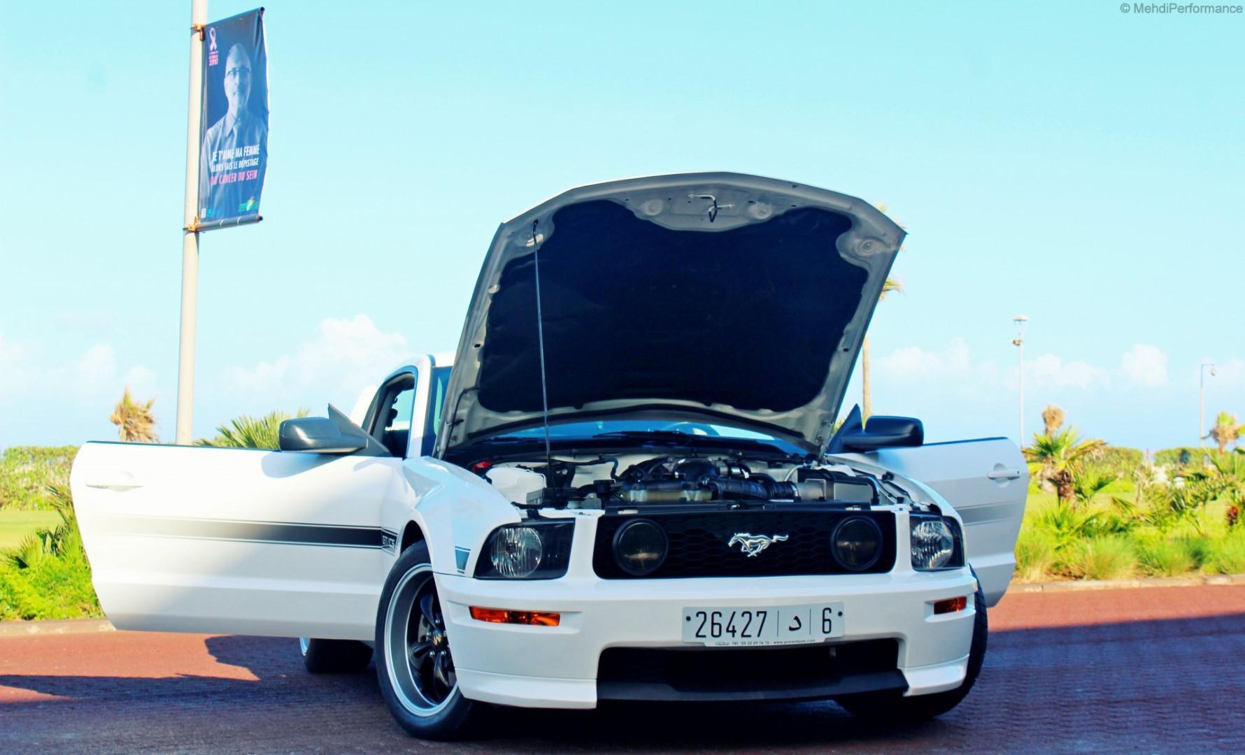 Série Spéciale au Maroc : Ford Mustang GT V8 4.6L California Spécial (Manuelle)