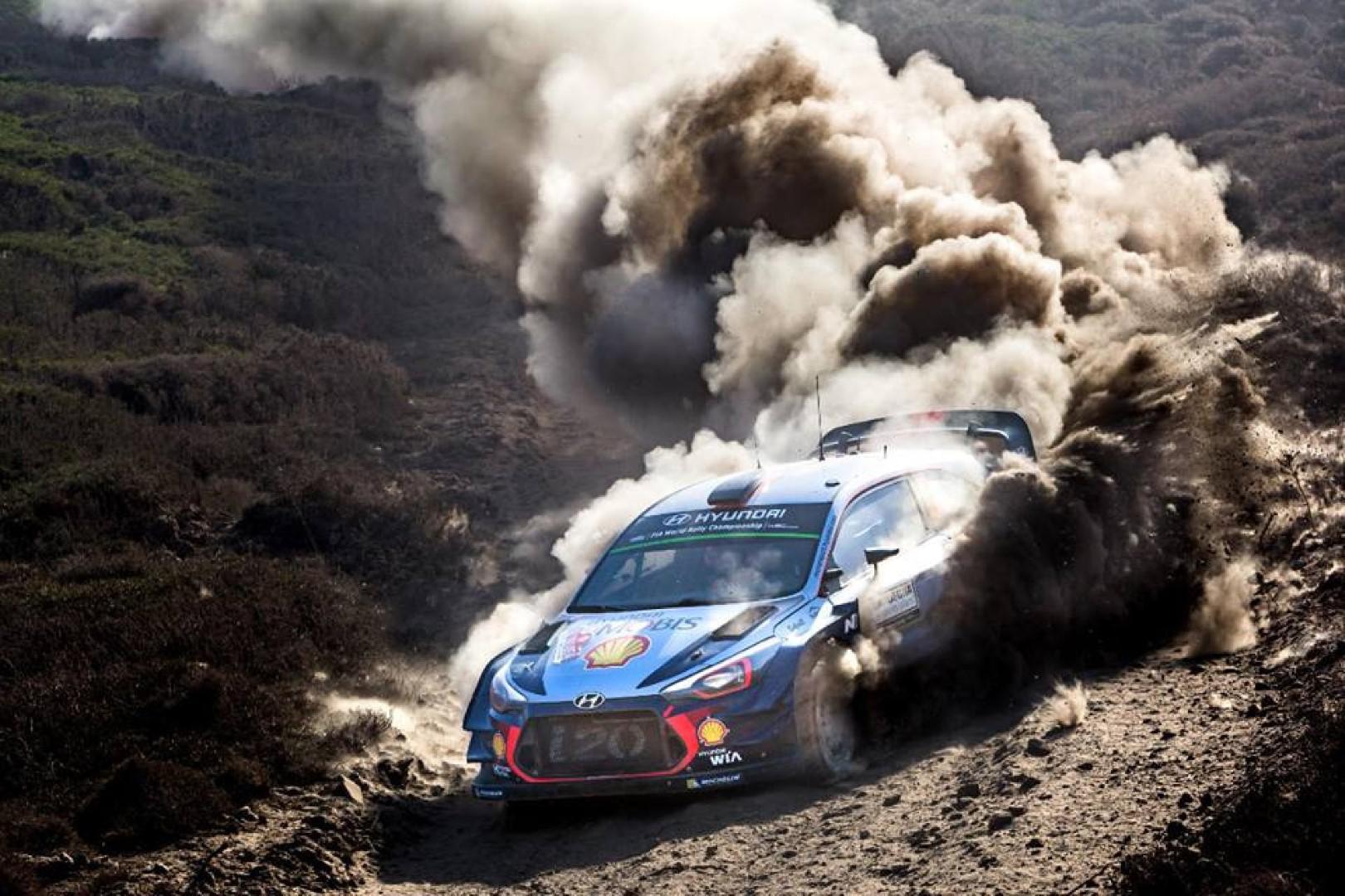 Rallye d'australie 2017 : Neuville s'offre le shakedown