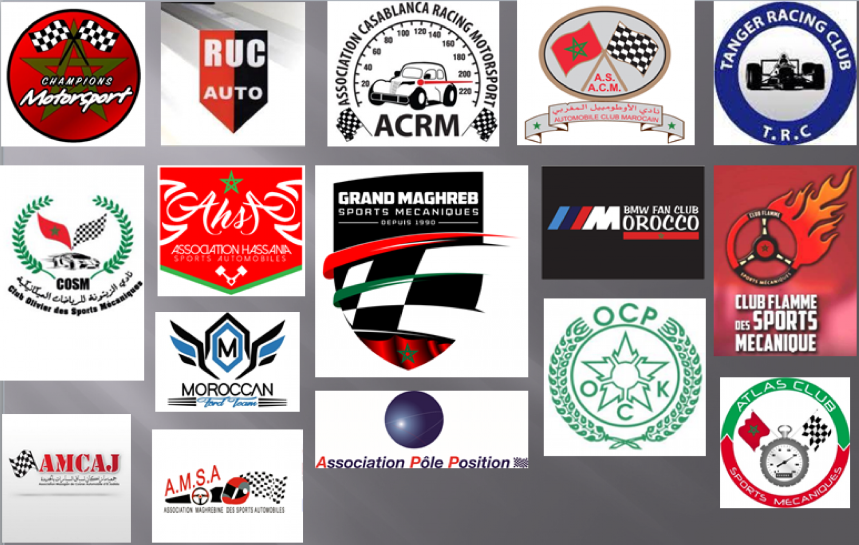Clubs et Associations Automobiles au Maroc