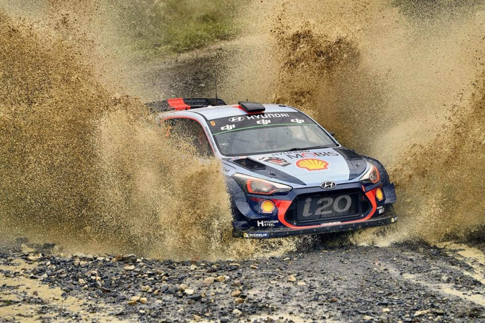 Rallye d'Australie 2017 : Mikkelsen domine la journée