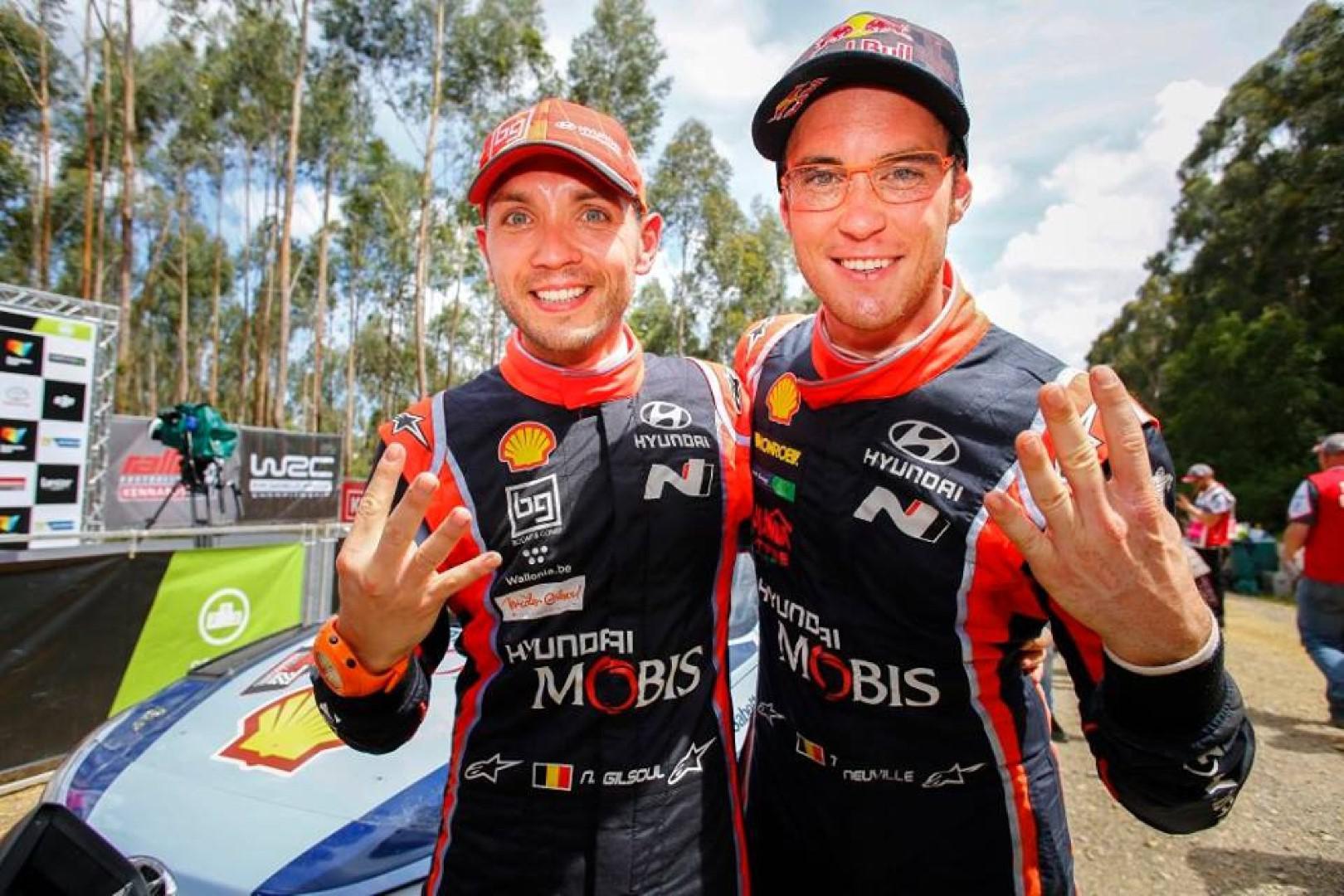 Rallye d'Australie 2017 : Thierry Neuville remporte sa quatrième victoire de la saison.