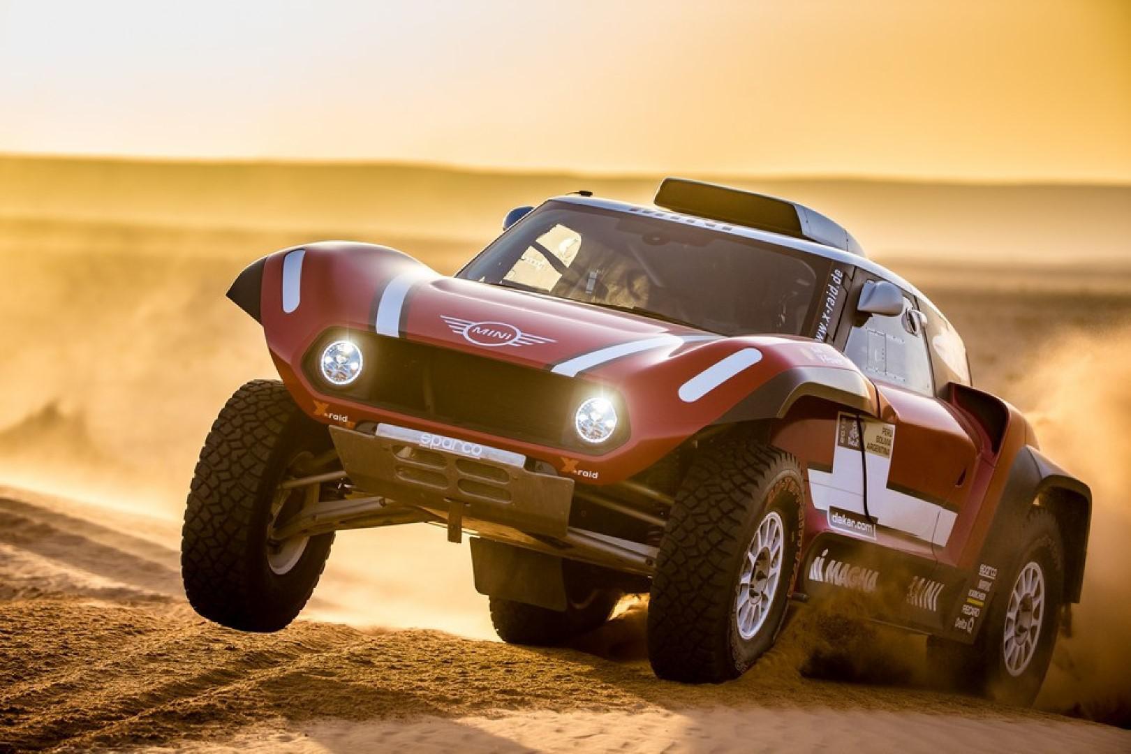 Dakar 2018 : Mini en Buggy à la conquête d'une victoire au Dakar 2018