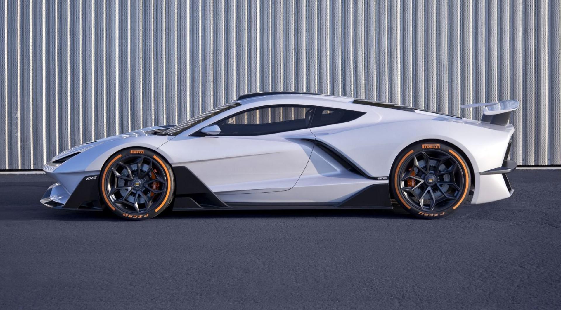 FXE: Une supercar de 1160 chevaux