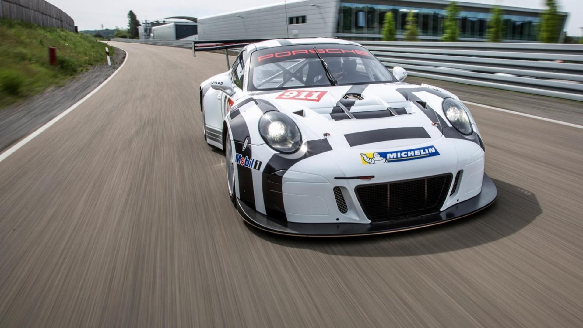 Une nouvelle Porsche 911 GT3 R en cours de développement pour 2019