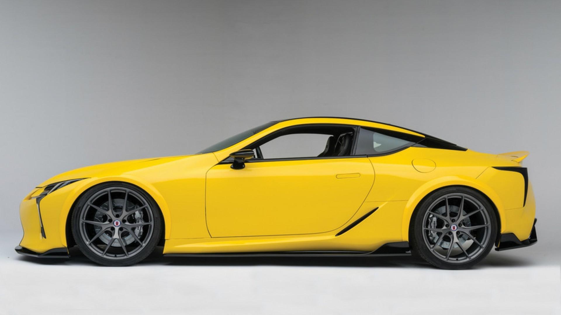 Moteur V8 de 630 ch pour la Lexus LC F ?!