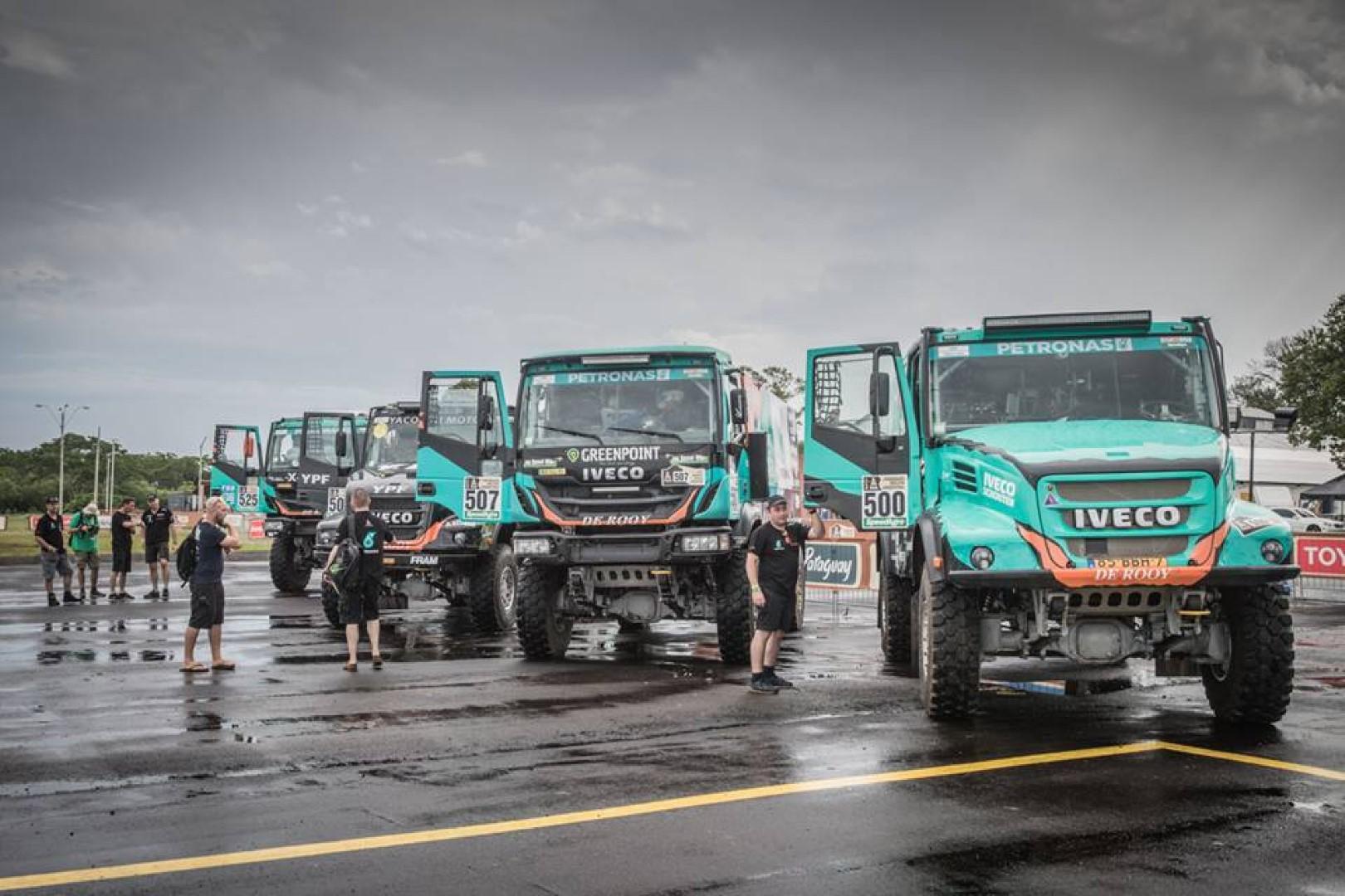 IVECO et le Team PETRONAS De Rooy sont prêts à affronter les rallyes les plus exigeants au monde : le Dakar 2018 et l'Africa Eco Race 2018