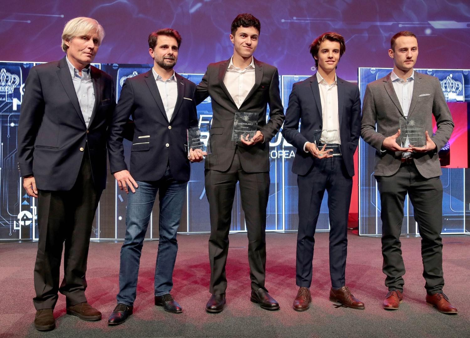 Michael Benyahia honoré par le Royal Automobile Club de Belgique (RACB) تكريم في حفلة نادي السيارات الملكي لبلجيكا