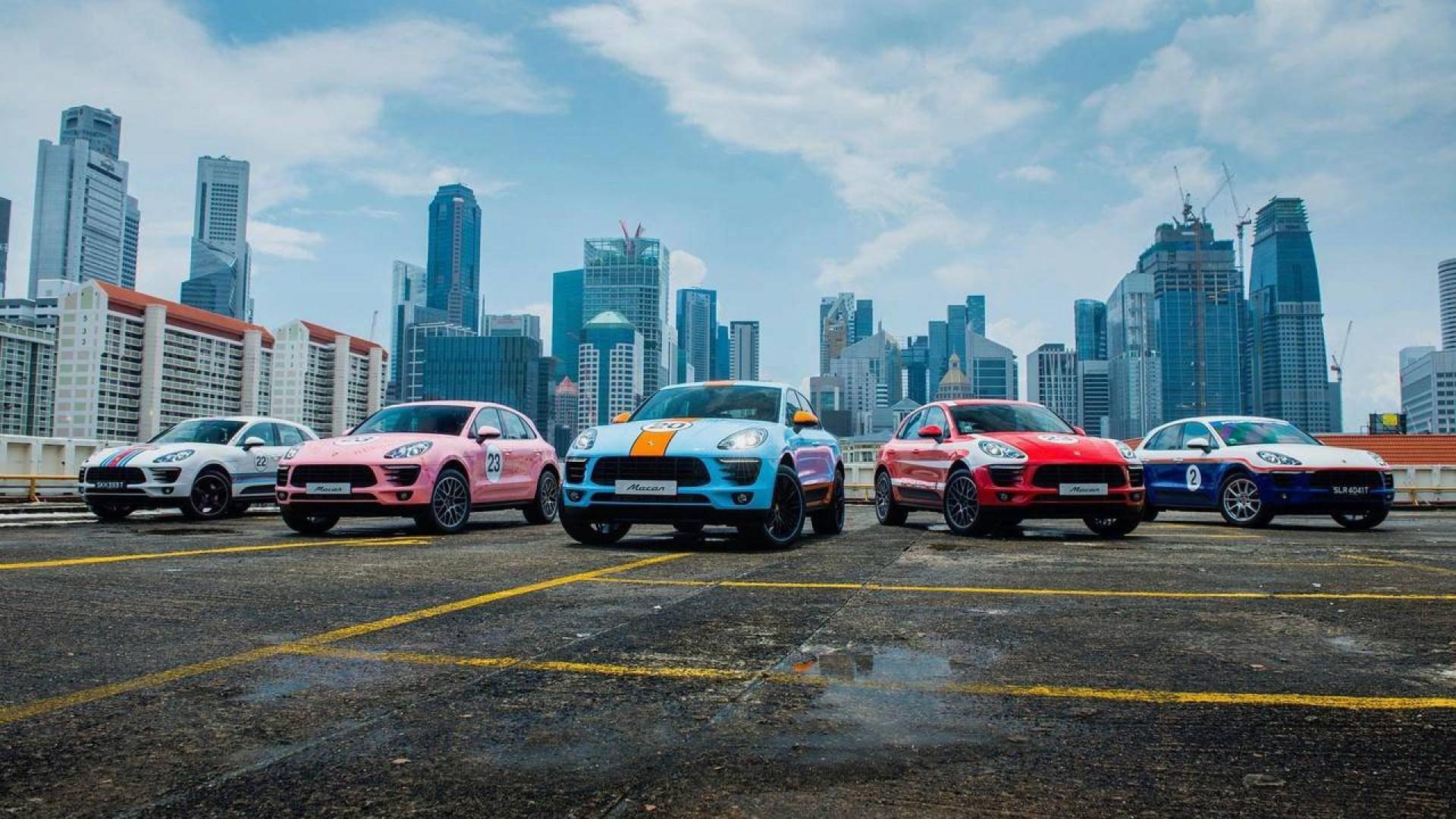 Porsche Macan : Plutôt Martini, Gulf ou Rothmans ?