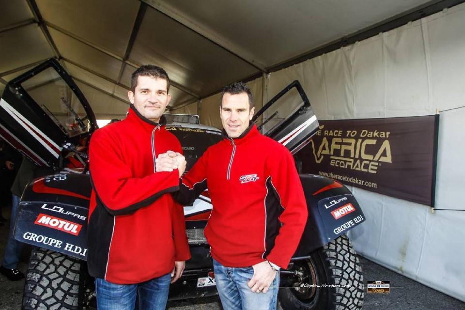 Africa Race 2018 Le Rallye-Raid, un partage de père en fils pour le Serradori Racing Team.