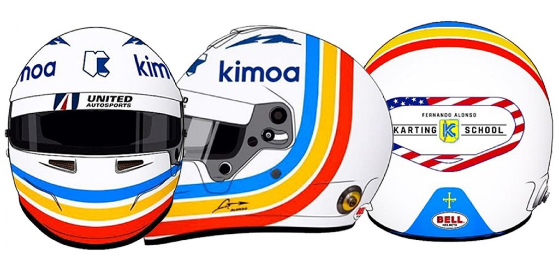 Le nouveau casque de Fernando Alonso ?