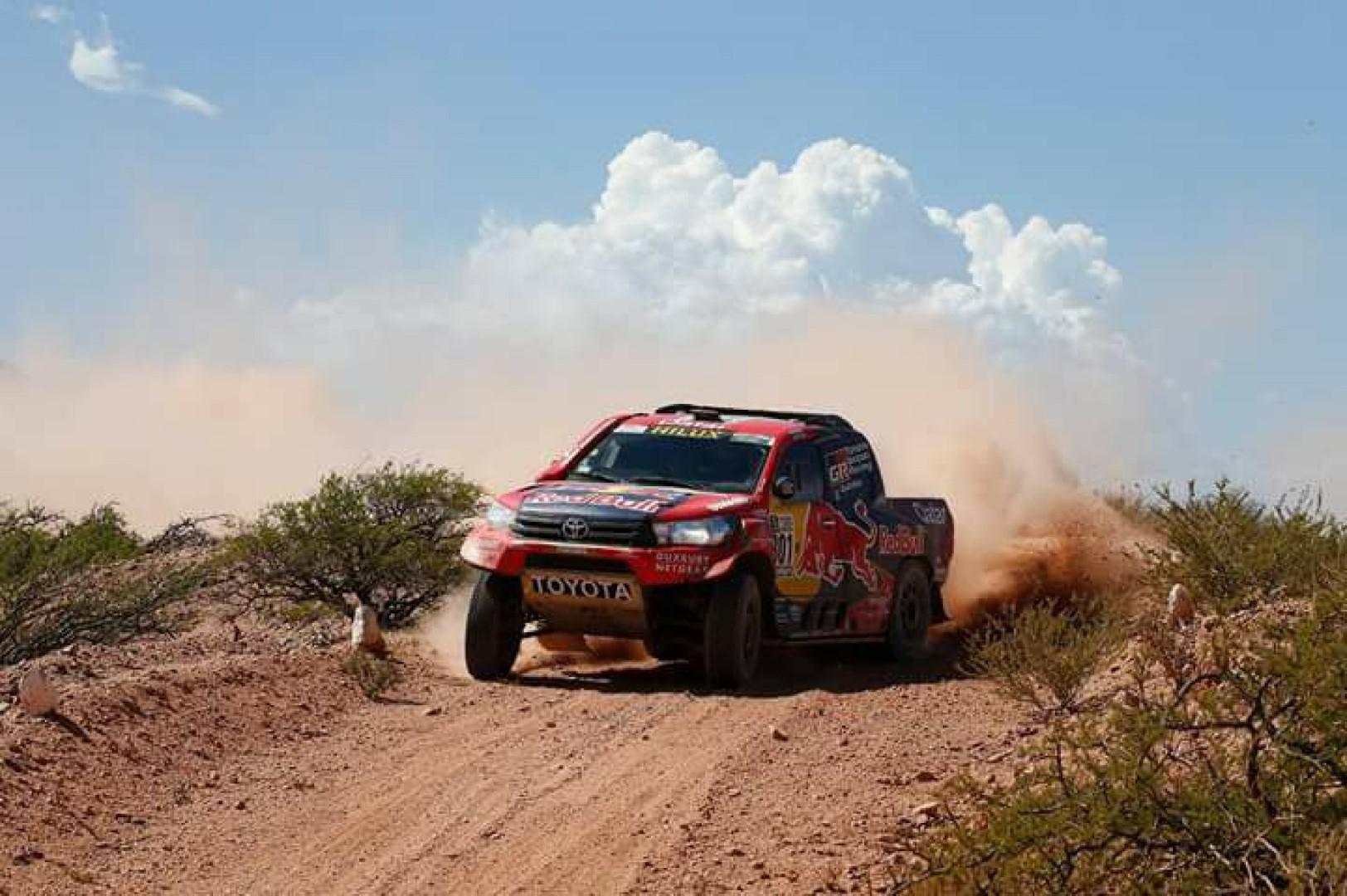 Dakar 2018 : Al Attiyah et Sunderland attaquent