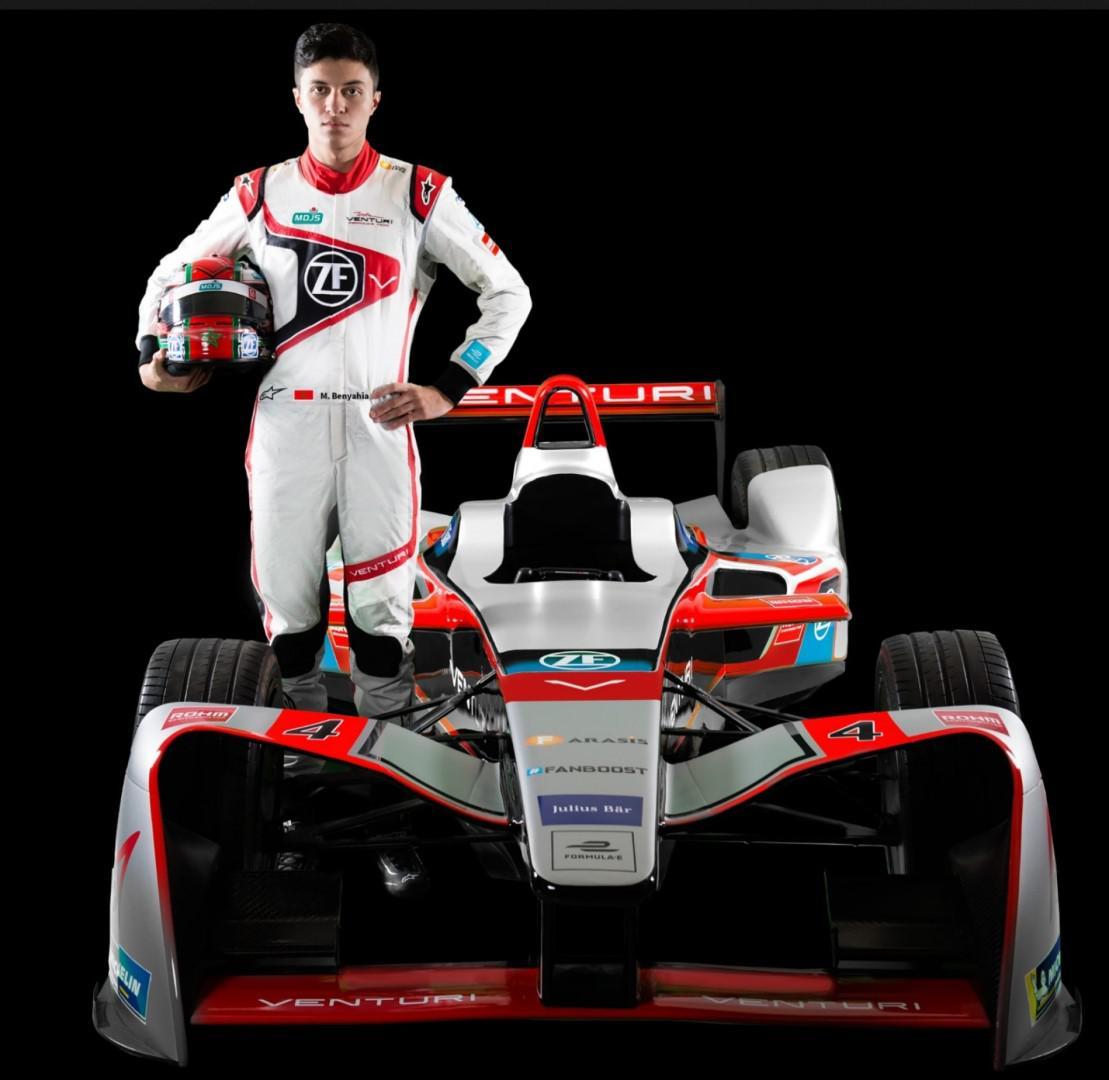 Michaël Benyahia, premier pilote arabe et africain en Formule E à l'occasion du Marrakech E-Prix 2018