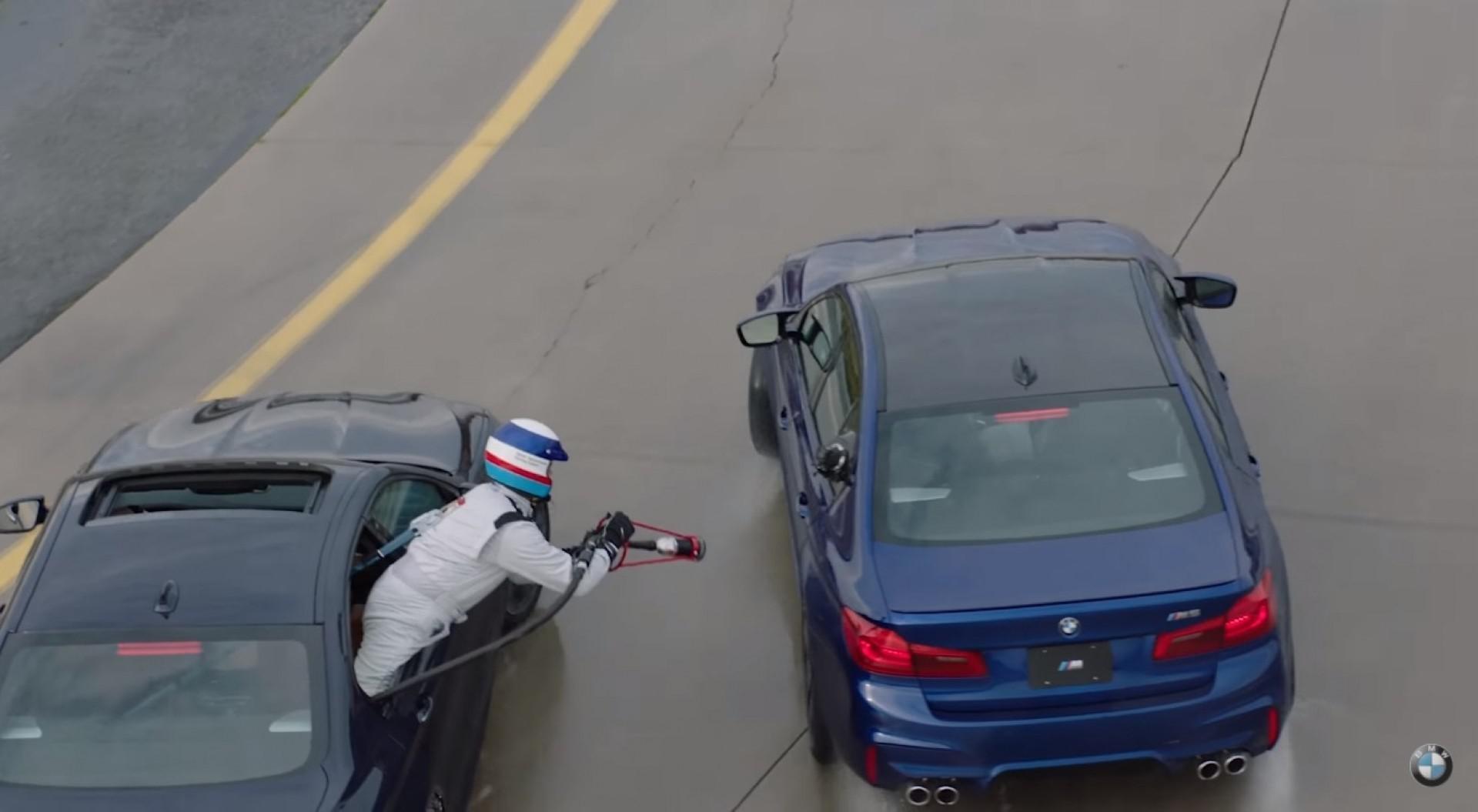 Record du monde battu ! BMW M5 drift pendant 8h