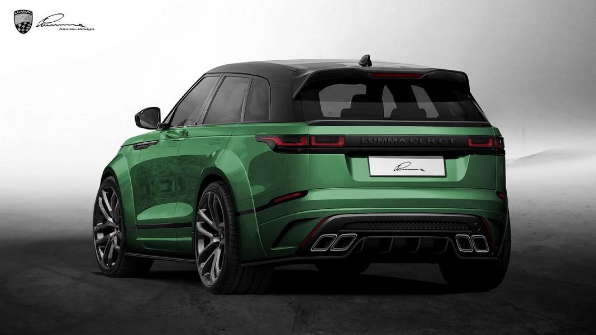 Tuning: Range Rover Velar Lumma CLR GT