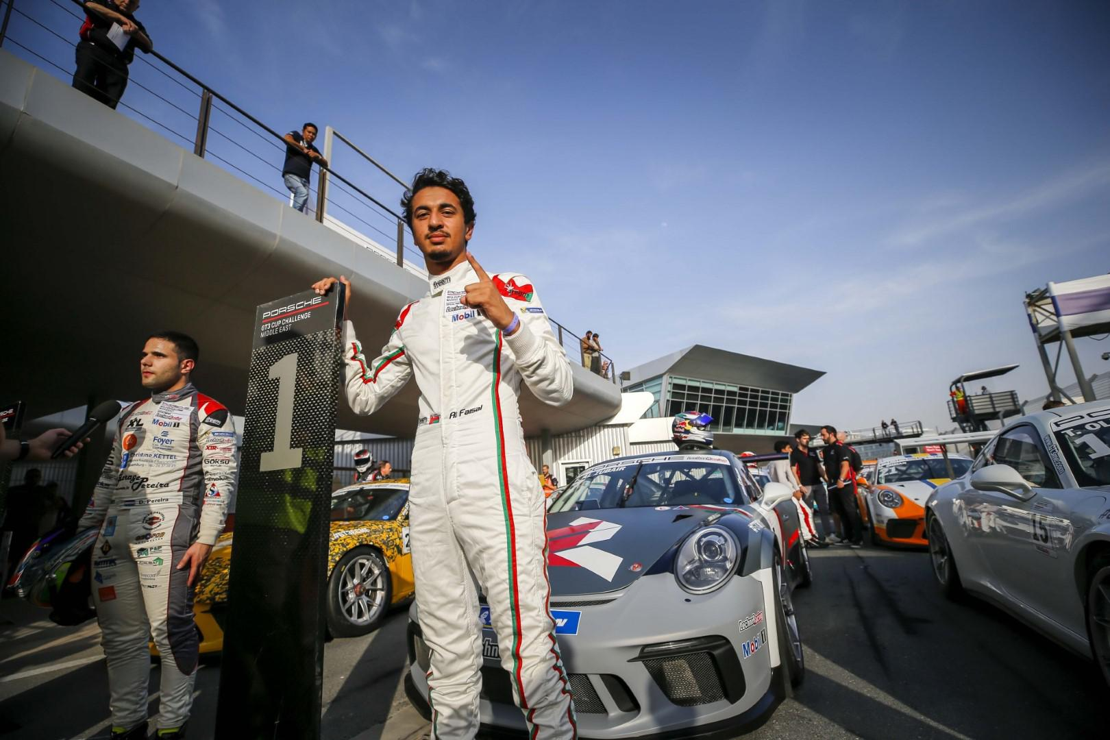 الفيصل الزُبير يتألق بفوزه الثاني في سباق دبي