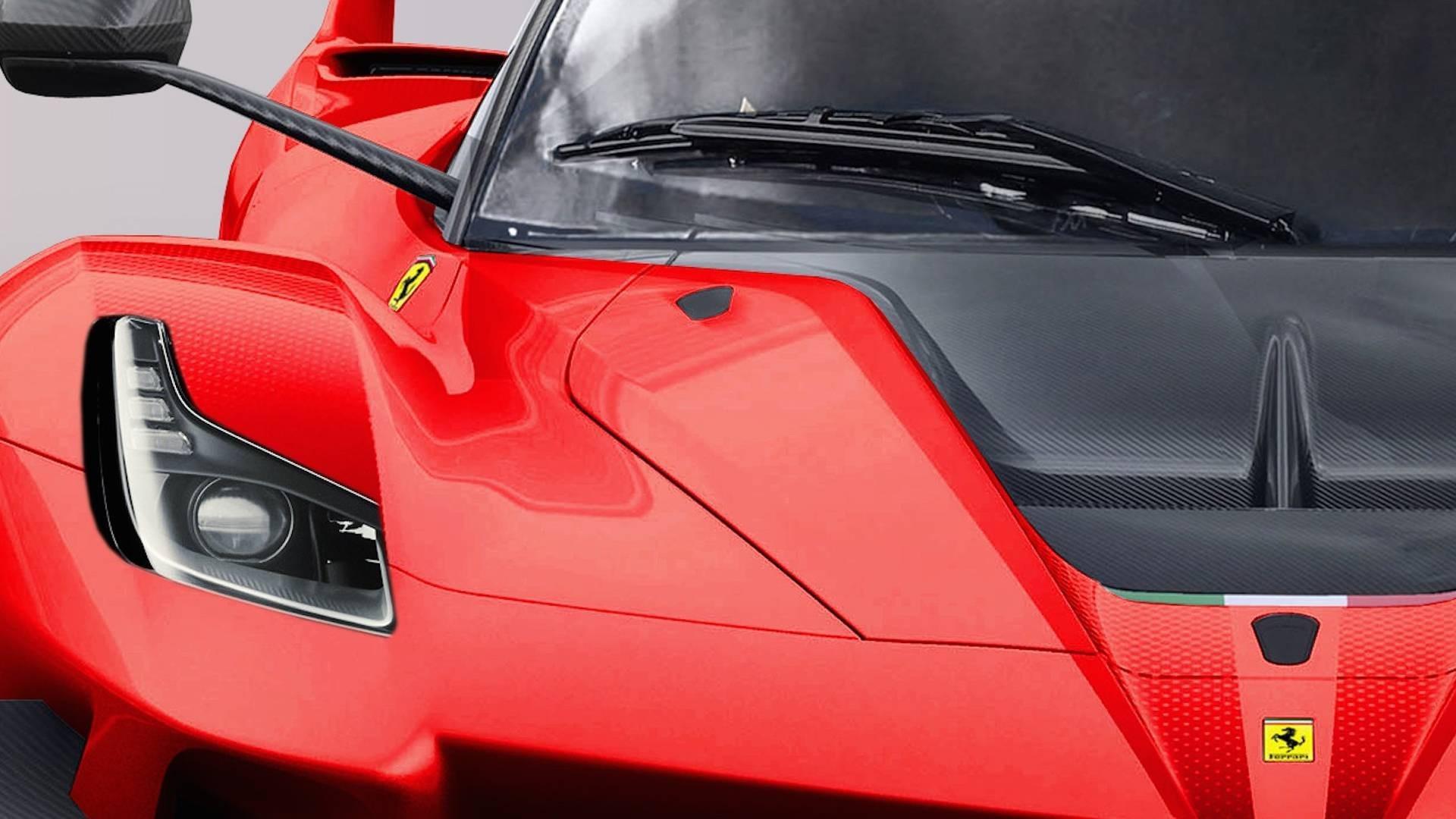 Design : Ferrari FXX K Evo homologuée pour la route