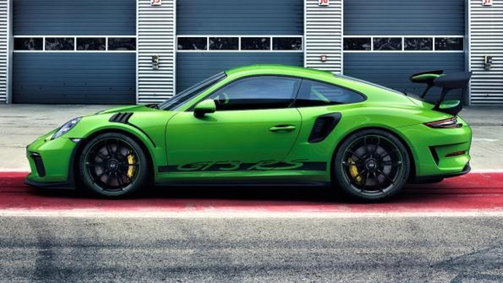 Porsche vient de dévoiler le face-lift de sa radicale 911 GT3 RS