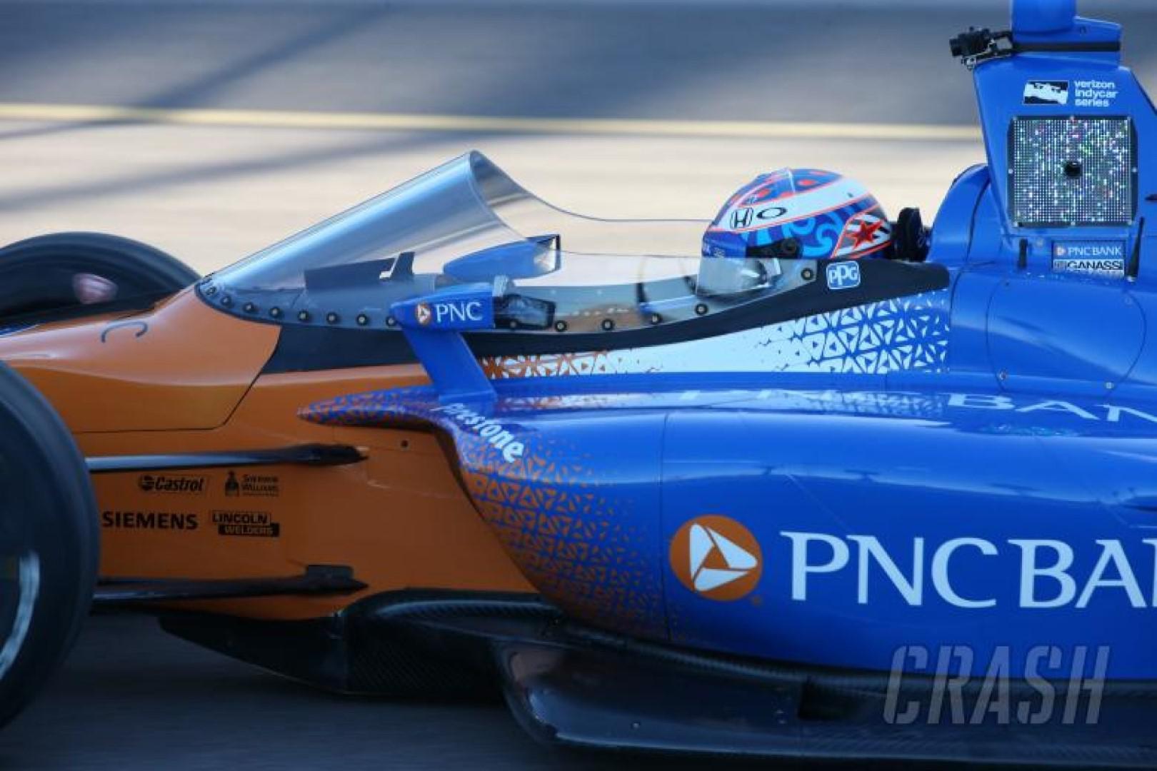 Dixon : premier test de pare-brise IndyCar positif