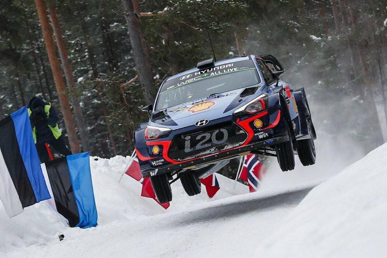 Rallye de Suède 2018 : Thierry Neuville leader du rallye