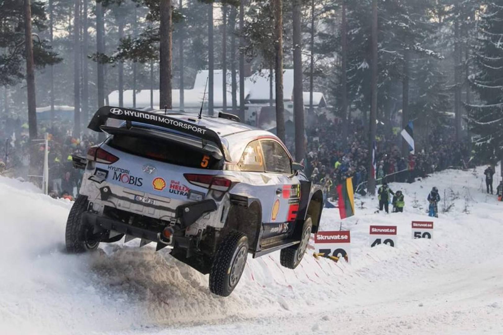 Rallye de suède 2018 : Thierry Neuville s'impose est prend la tête du championnat