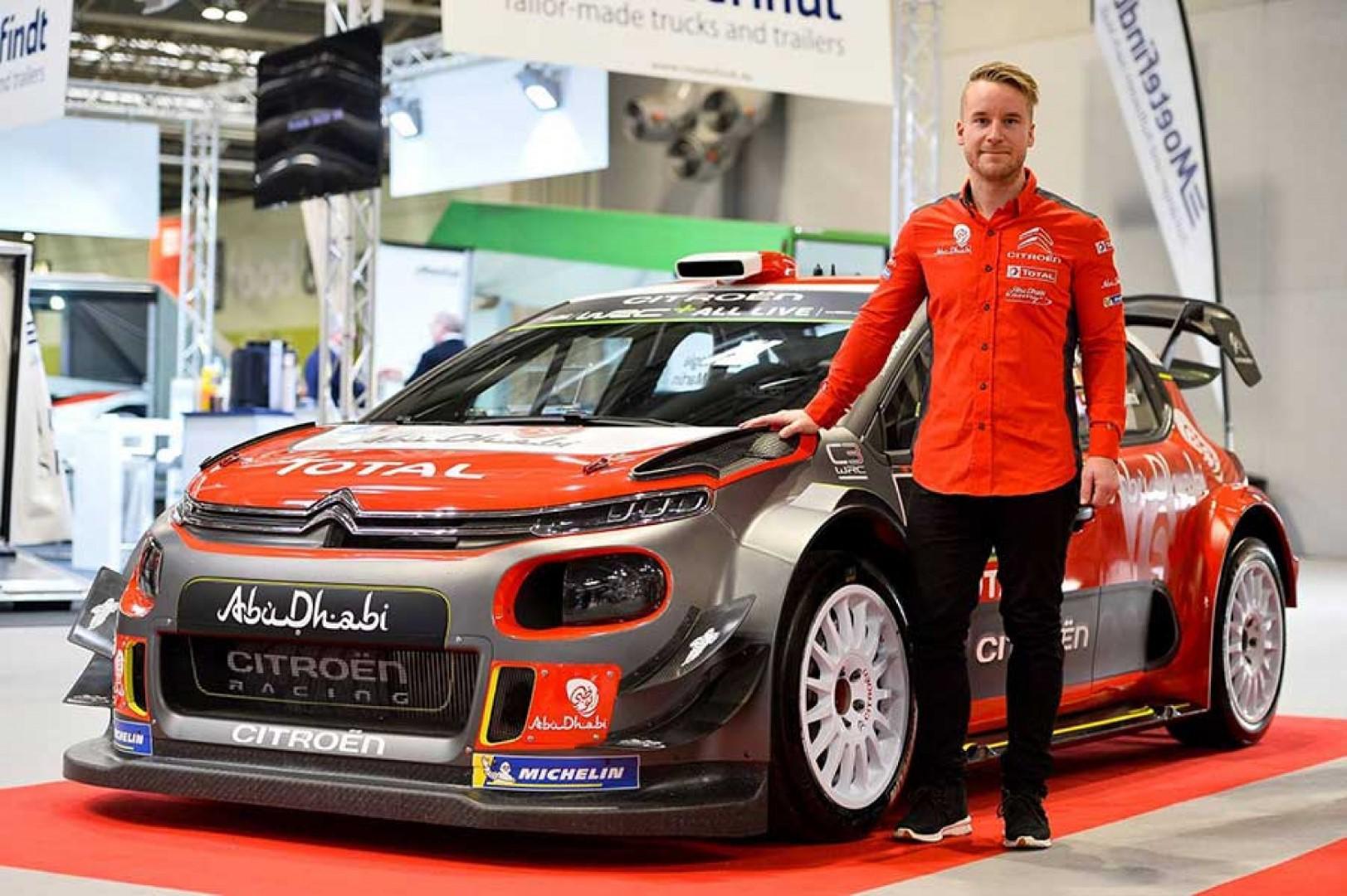 Interview avec Mads Ostberg après le rallye de Suède.