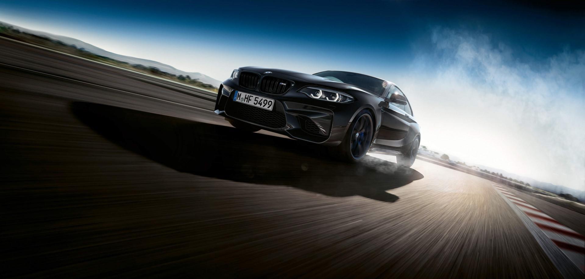BMW dévoile une édition spéciale de la M2 nommée : Black Shadow