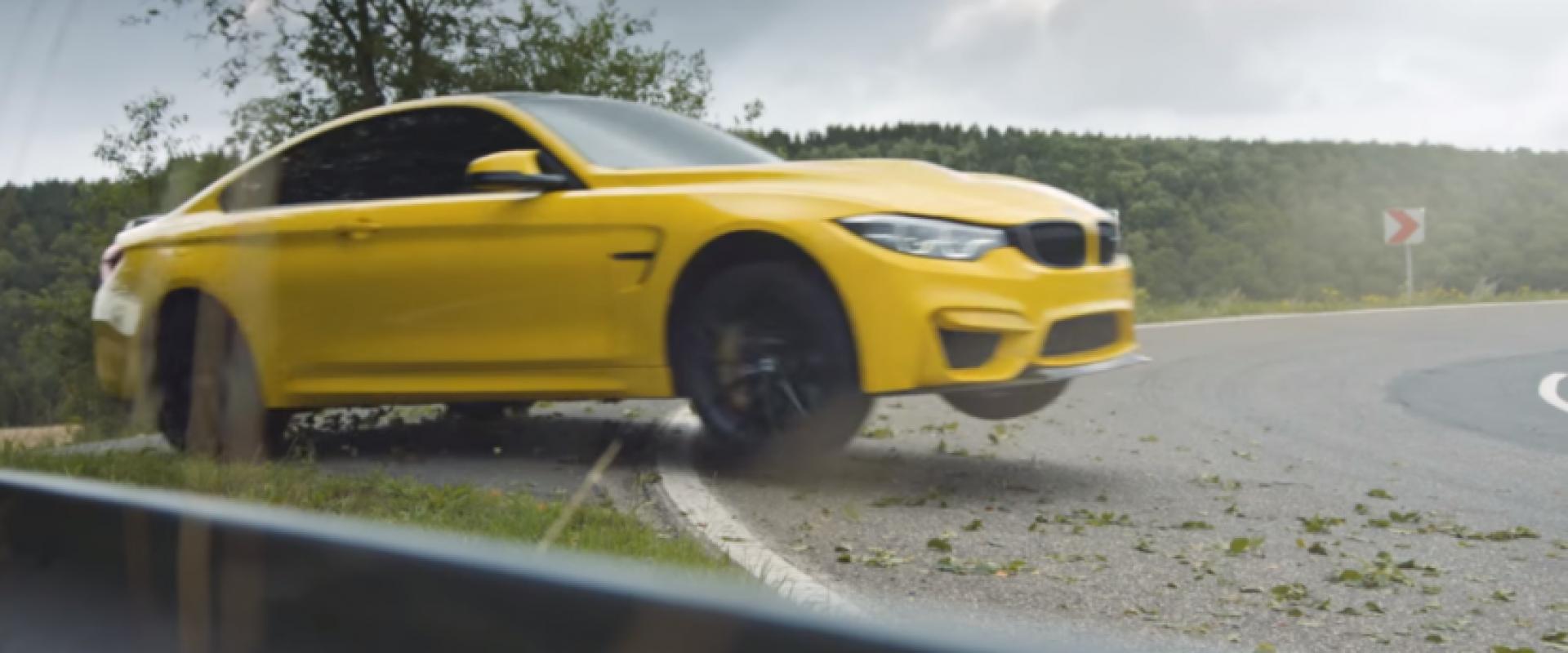 BMW M4 CS a confié à l'expérimenté Rhys Millen pour réaliser un clip des plus spectaculaires !