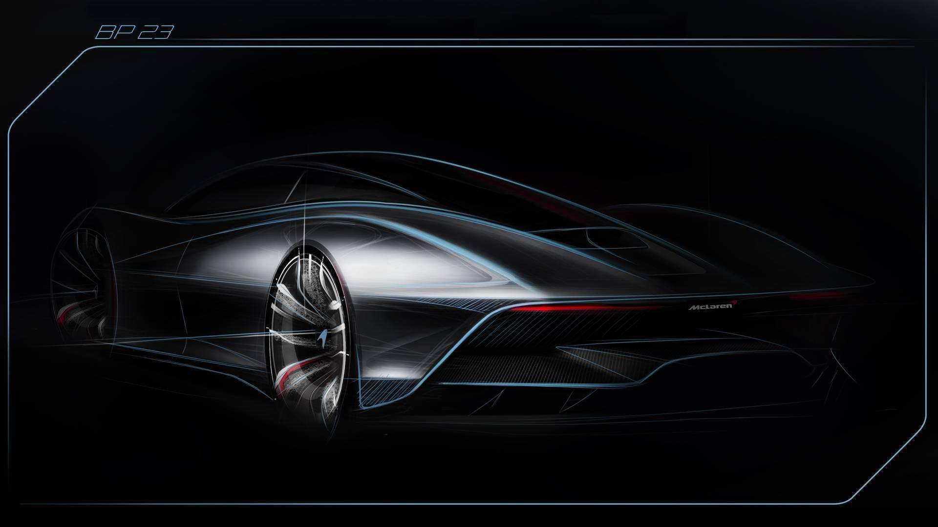 McLaren Hyper-GT : Jusqu'à 400 km/h en vitesse de pointe !